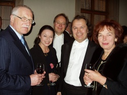 After concert for Mr. President Klaus 2004