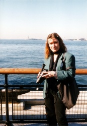 On the way to The Statue of Liberty, 1998
