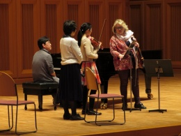 Masterclass in Gifu, Japan 2017
