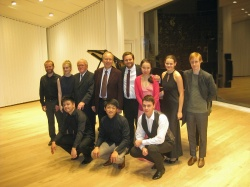 Professors and their students, Troldhaugen 2016