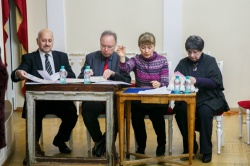 Competition's jury in Sankt Petersburg