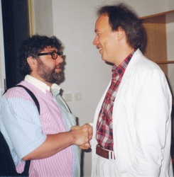 With Prof. Avo Kouyoumdjian in Týn /CZ/ 2002