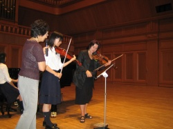 Masterclass in Gifu /Japan/, 2006