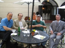 With lectors of SPCPC, Prague 2009